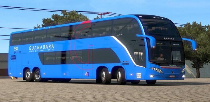 Photo of Busscar Vissta Buss Dd 6X2 ETS2 1.39
