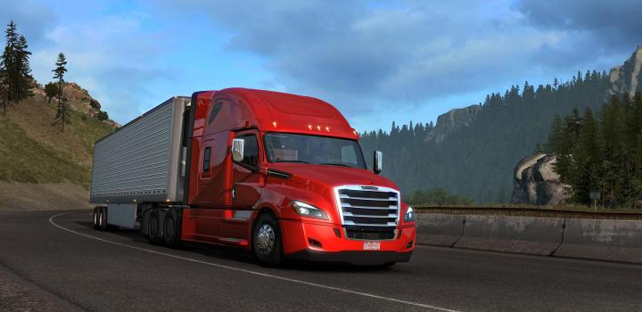 Photo of ETS2 – Cascadia Air Horn Sound for All Scs Trucks V1.0 (1.39.x)