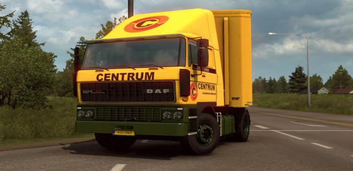 Photo of Centrum Transport Bv Valkenswaard for Daf F214 ETS2 1.39