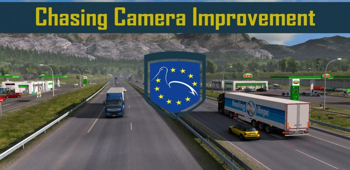 Photo of Chasing Camera Improvement V1.10 ETS2 1.39