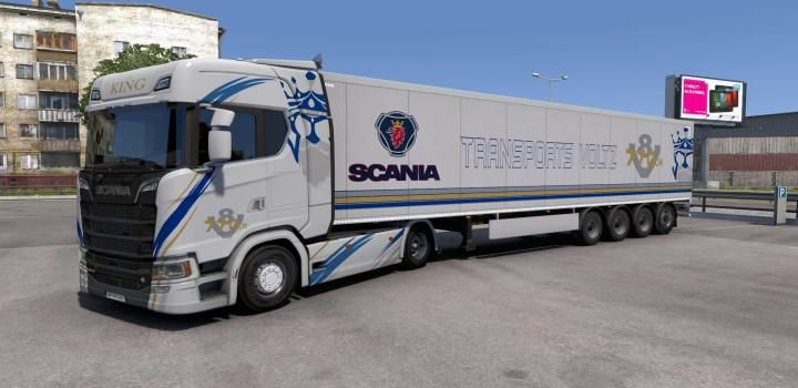 Photo of ETS2 – Combo Skin Transports Voltz V1.0 (1.39.x)