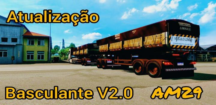 Photo of Dirty Skin Brazilian Trailer ETS2 1.39