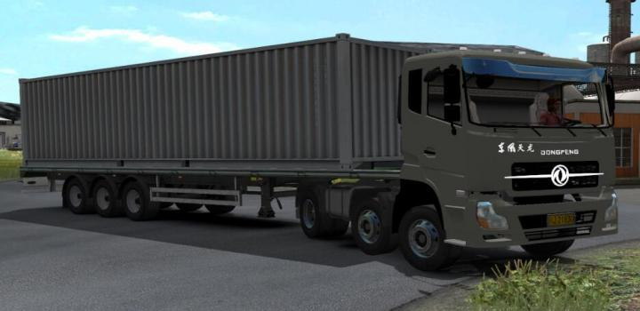 Photo of Dongfeng Tianlong 375 Truck ETS2 1.39