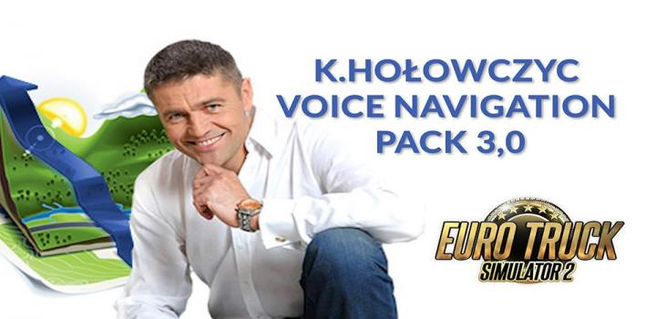 Photo of ETS2 – K.holowczyc Voice Navigation Pack V3.0 (1.39.x)