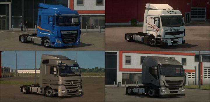 Photo of ETS2 – Low Deck Chassis Addons for Schumis Trucks V4.8 (1.39.x)