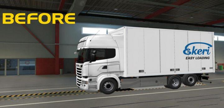 Photo of ETS2 – Low Deck Chassis for Tandem Addon Rjl (1.39.x)