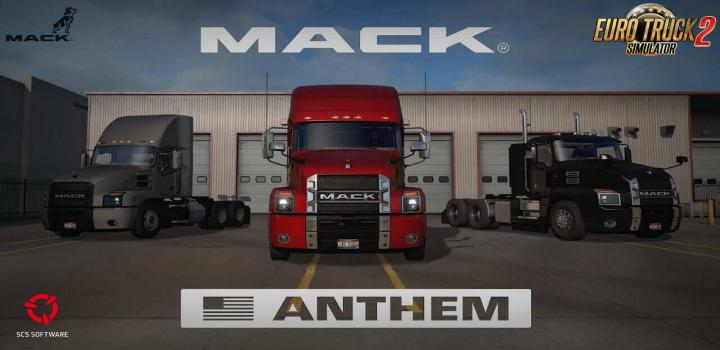 Photo of ETS2 – Mack Anthem + Interior V2.2 (1.39.x)