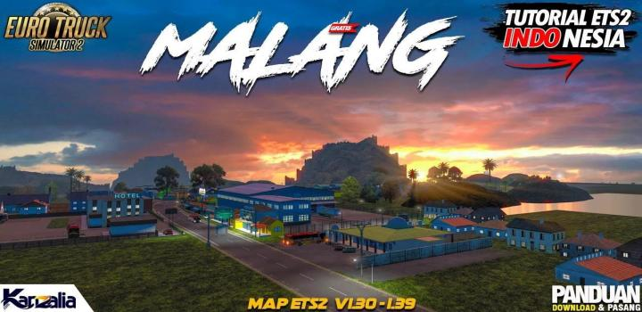 Photo of ETS2 – Malang Map V1.0 (1.39.x)