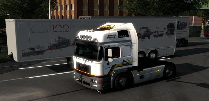 Photo of ETS2 – Man F2000 Ole School Skin V1.0 (1.39.x)