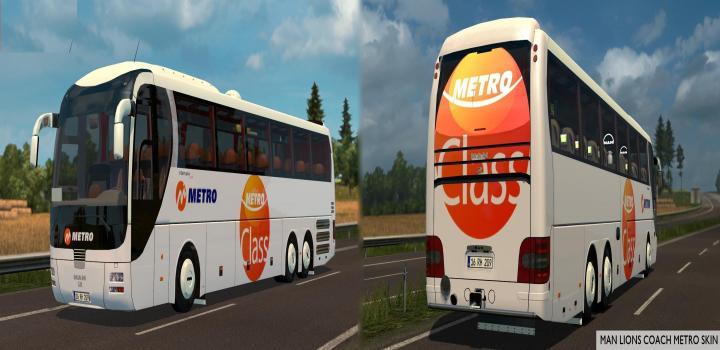 Photo of Man Lion Coach 6X2 V1.3 ETS2 1.39