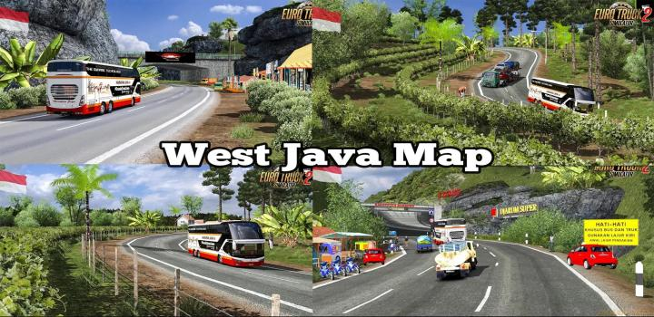 Photo of ETS2 – Map Of West Java Indonesia (1.39.x)