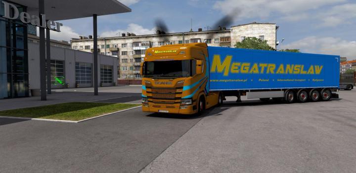 Photo of Megatranslaw Combo Skin V1.0 ETS2 1.39