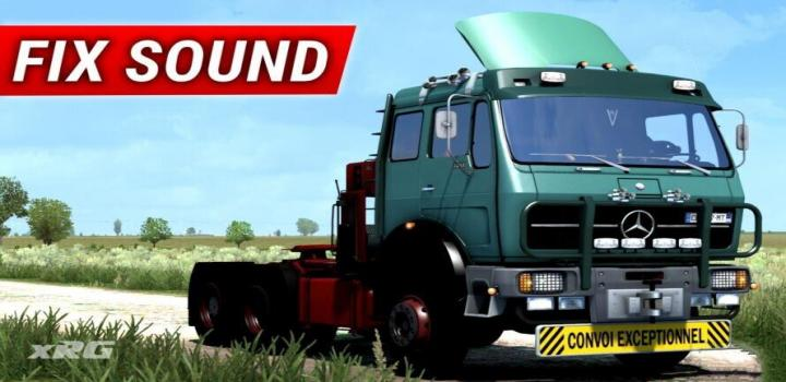 Photo of ETS2 – Mercedes 1632 Ng – Edit By Ekualizer Sound Fix (1.39.x)