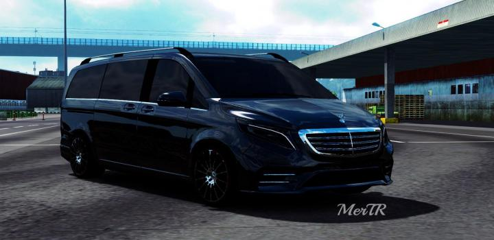 Photo of ETS2 – Mercedes-Benz Vito V-Class 2018 V3.0 (1.39.x)