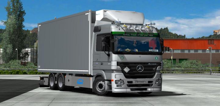 Photo of Mercedes Mp2 Tandem Addon ETS2 1.39