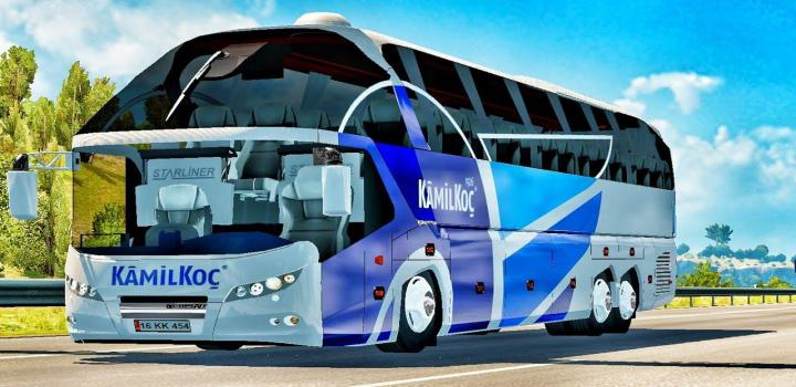 Photo of Neoplan Starliner Bus Mod ETS2 1.39