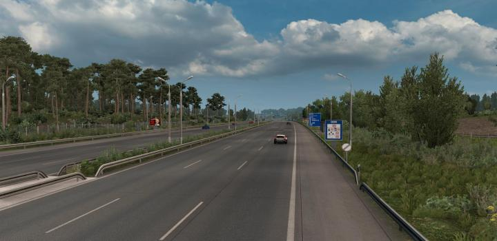 Photo of ETS2 – Old German Border Mod Fix for All Map Mods V1.11 (1.39.x)