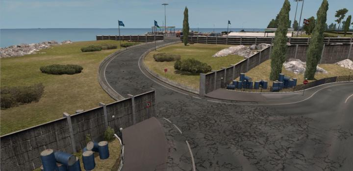 Photo of Open Border Israel Lebanon All Map Mods Fix ETS2 1.39