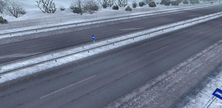 Photo of Project Ng Frosty Winter Addon ETS2 1.39