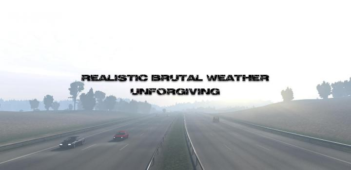 Photo of ETS2 – Realistic Brutal Weather V5.9 (1.39.x)