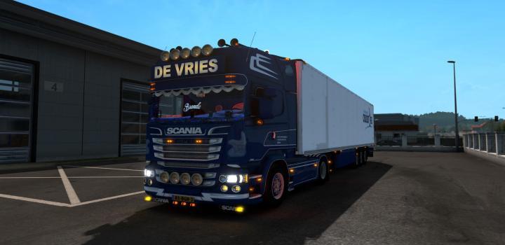 Photo of Scania De Vries Official ETS2 1.39