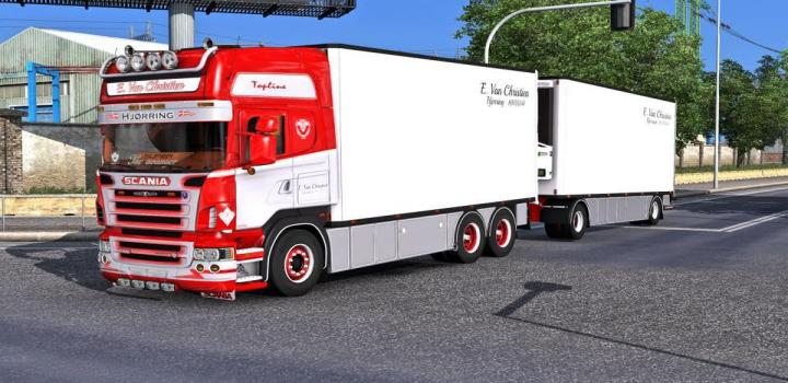 Photo of Scania R500 Tandem + Trailer ETS2 1.39
