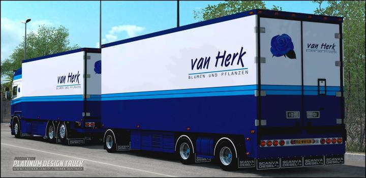 Photo of ETS2 – Scania Van Herk (1.39.x)