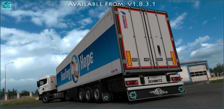 Photo of Scs Trailer Tuning Pack V1.8.3.1 ETS2 1.39