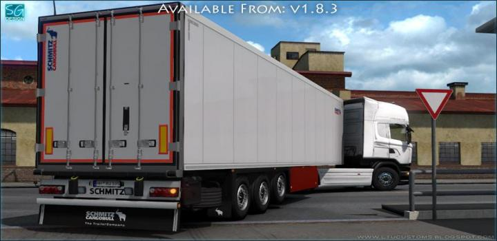 Photo of SCS Trailer Tuning Pack V1.8.3 ETS2 1.39