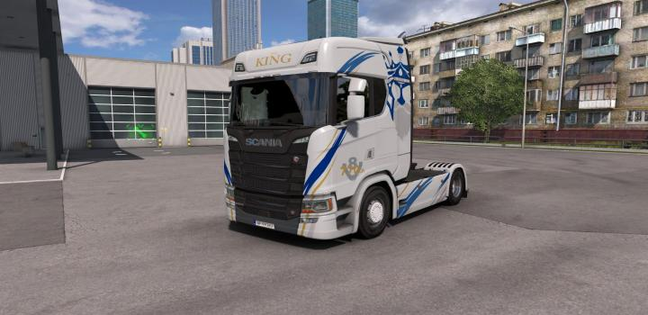 Photo of ETS2 – Skin Transports Voltz V1.0 (1.39.x)