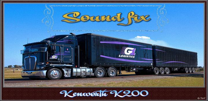 Photo of ETS2 – Sound Fix For Kenworth K200 V1.1 (1.39.x)