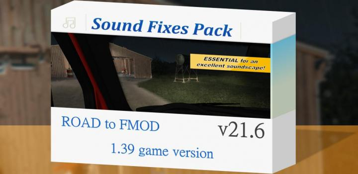 Photo of ETS2 – Sound Fixes Package V21.6 (1.39.x)