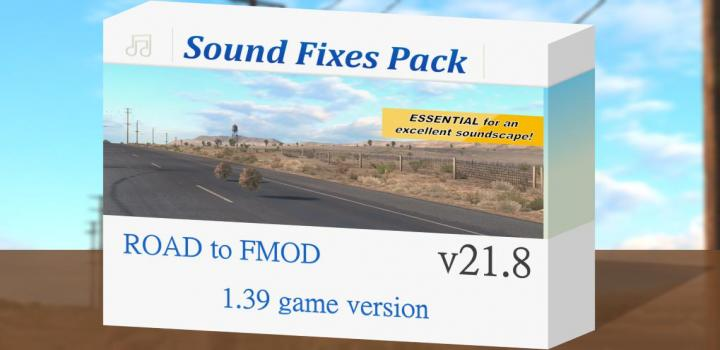 Photo of ETS2 – Sound Fixes Pack V21.8 (1.39.x)