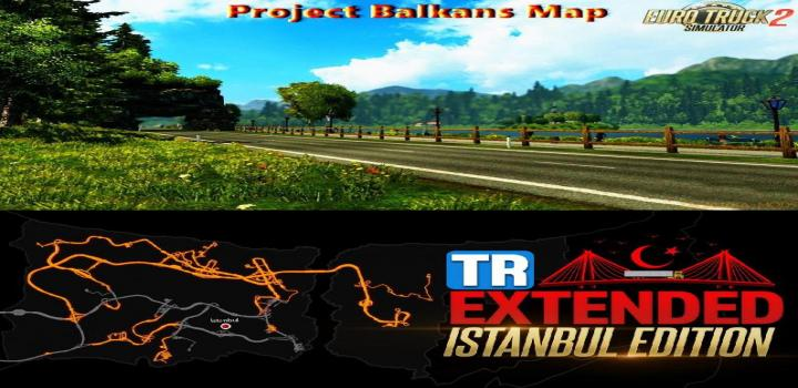 Photo of ETS2 – Tr Map V1.1.1 – Project Balkans V5.0 Road Connection (1.39.x)