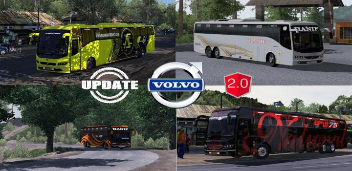 Photo of ETS2 – Volvo B9R I-Shift Multiaxle Update V2.0 (1.39.x)