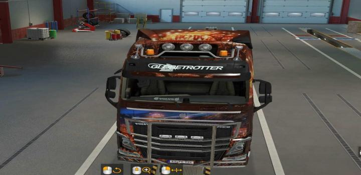 Photo of Volvo Glober And Xl Ac/Dc V1.0 ETS2 1.39