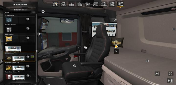 Photo of Wollis Interior Addon V1.0 ETS2 1.39