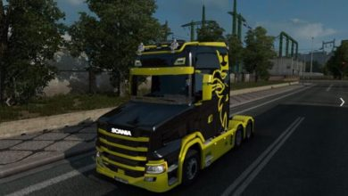 Photo of Scania S New Gen Tcab V3.1.1 ETS2 1.39