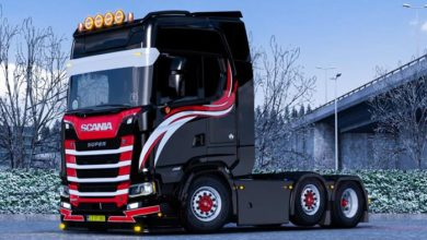 Photo of WF Truckstyling Skin for Scania S V1.0 ETS2 1.39