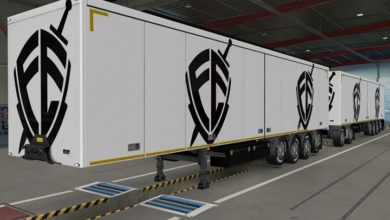 Photo of Owned Trailers Escudo FE Skin ETS2 1.39