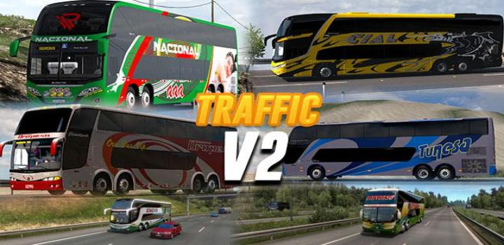 Photo of Busses In Traffic V2.0 ATS 1.40