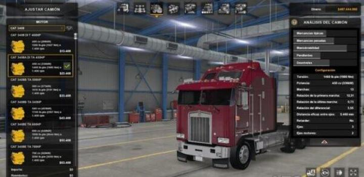 Photo of Cat 3408 Engines Pack V1.2 ATS 1.40