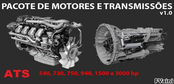 Photo of Engines And Transmissions Package V1.0 ATS 1.40