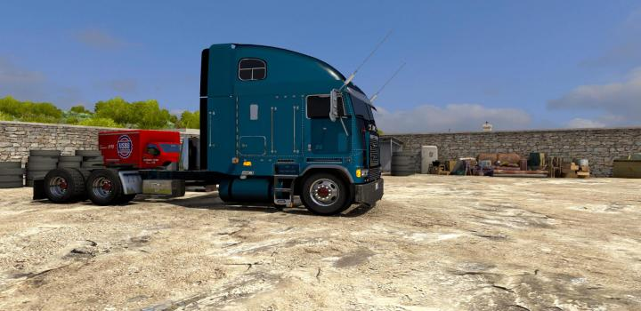 Photo of Freightliner Flb Cabover ATS 1.39