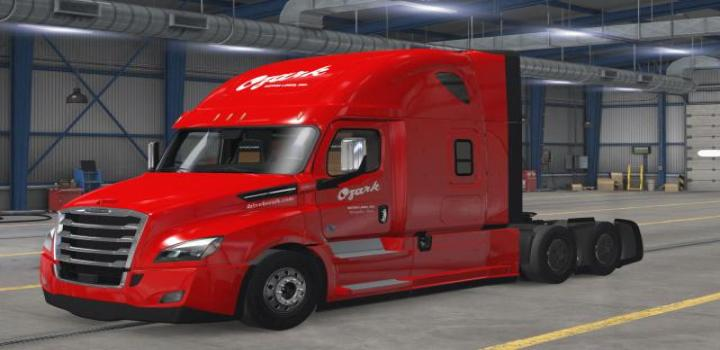 Photo of Ozark Motor Freight Skins V1.0 ATS 1.40