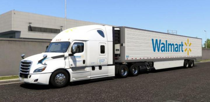 Photo of Walmart Transportation Skins V1.0 ATS 1.39