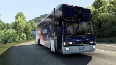 Photo of Busscar Jumbuss 380 T Scania + Brasileiras Skin ETS2 1.40