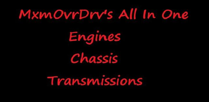 Photo of All In One Engines Chassis Transmissions V1.0 ATS 1.40