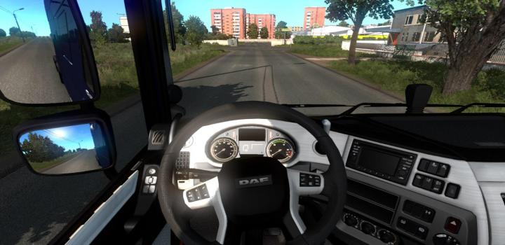 Photo of Black And White Interior For Daf Xf V1.0 ETS2 1.39