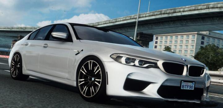 Photo of Bmw M5 F90 ETS2 1.40